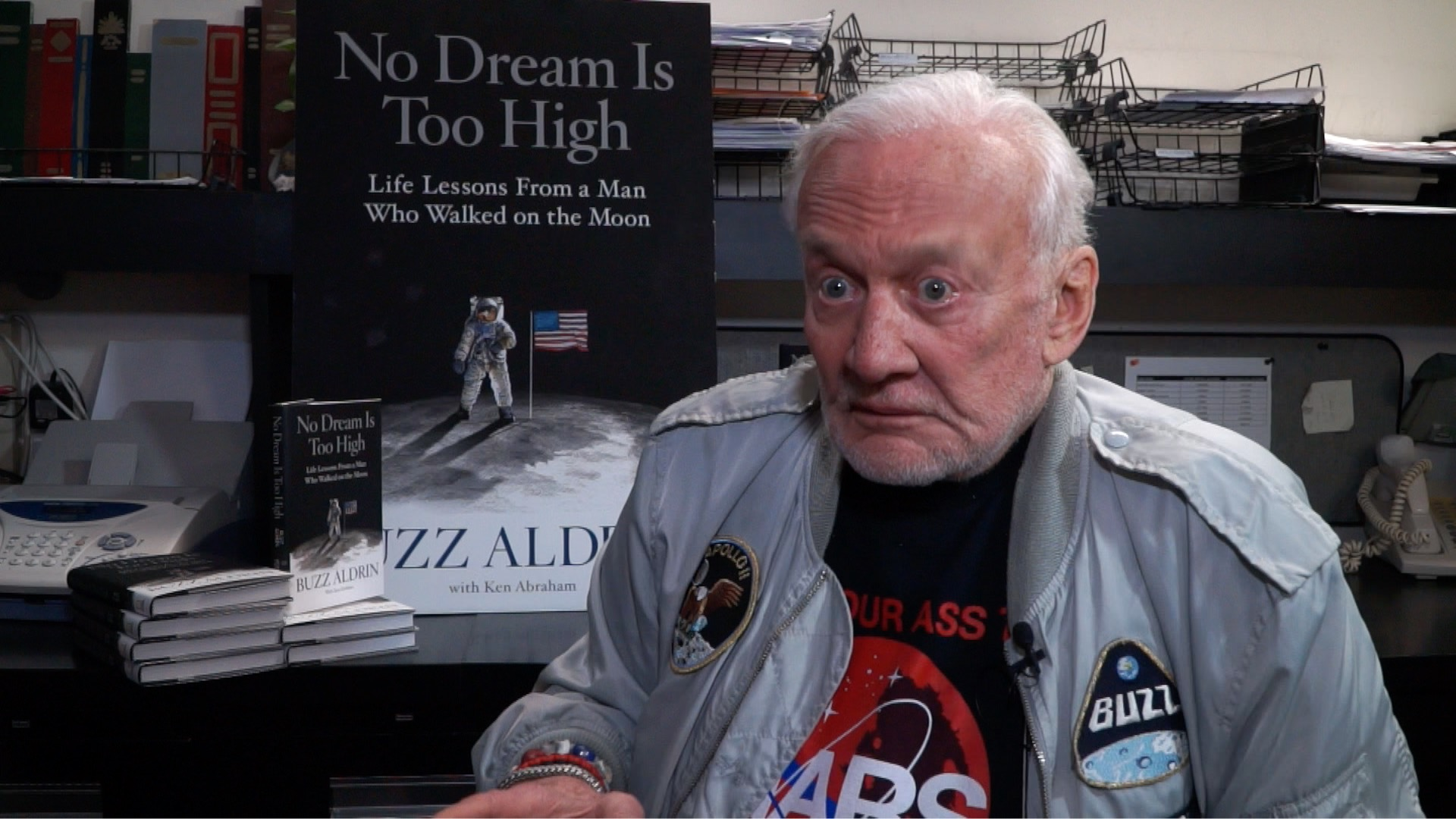 One on One With Buzz Aldrin at the Book Revue