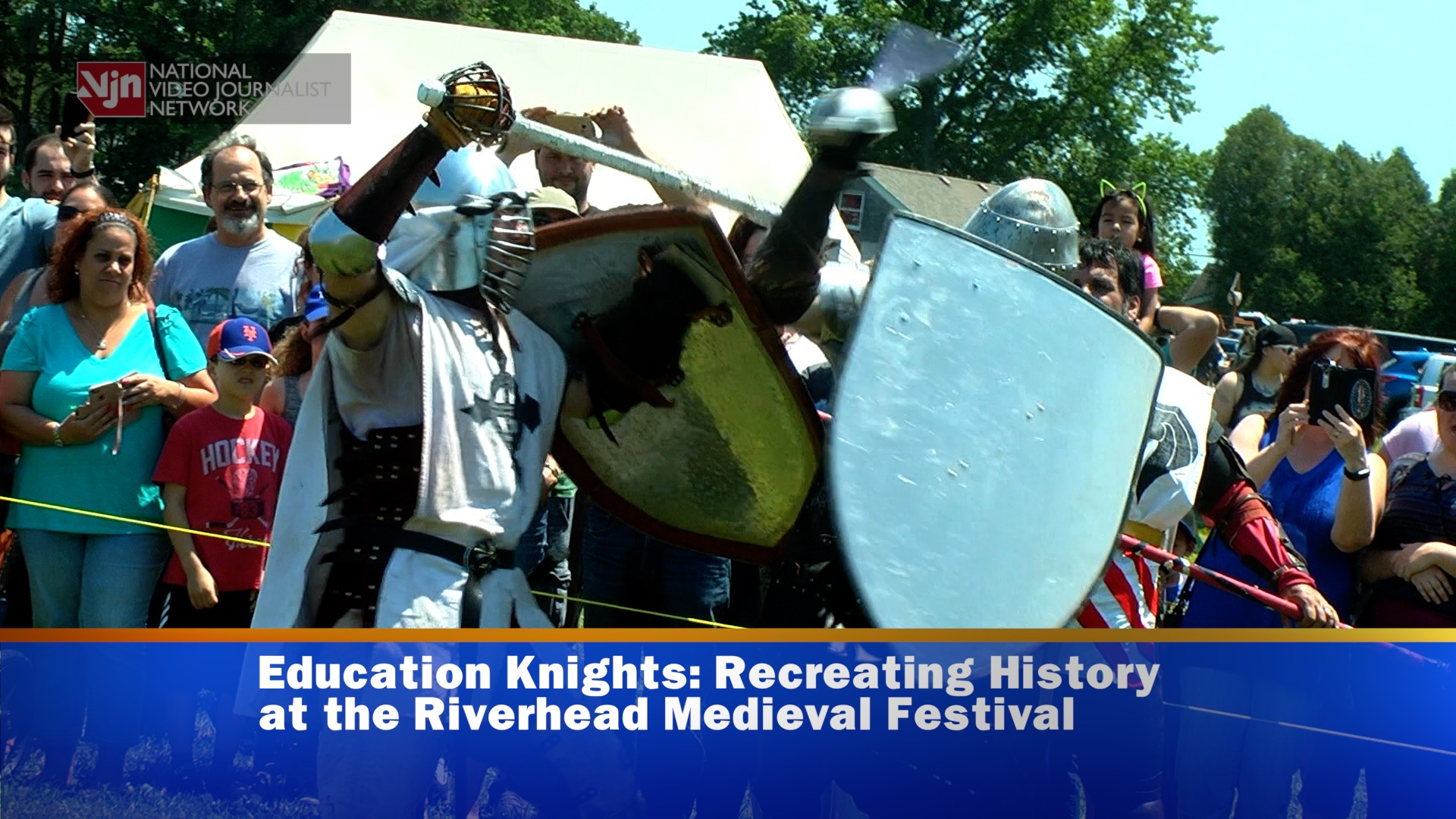 Education Knights: Inside The Riverhead Medieval Festival