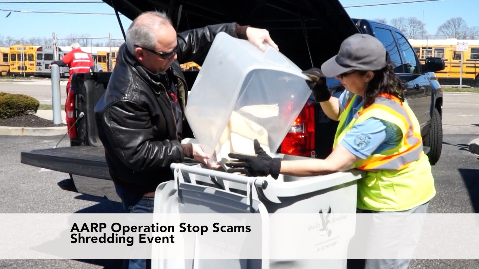 AARP Fights Fraud and Identity Theft with A Free Shredding Event
