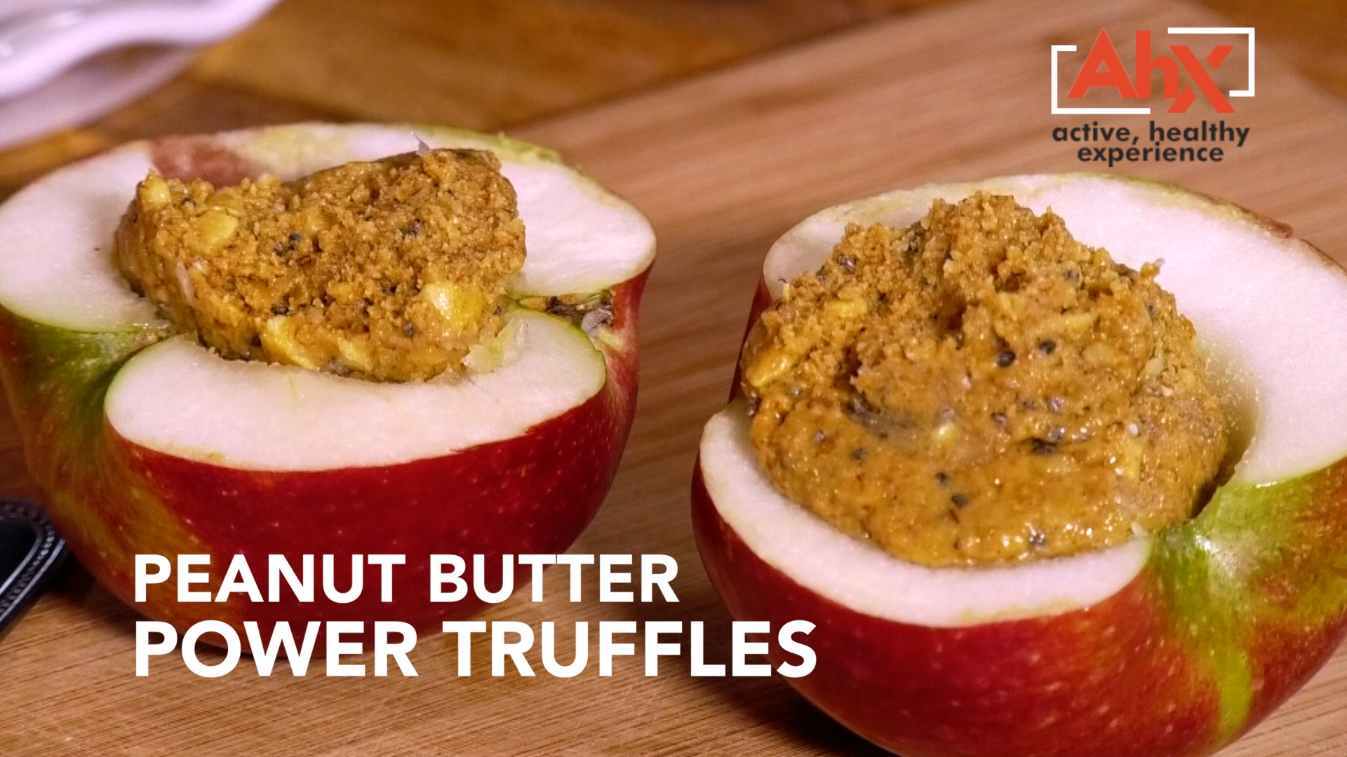 Alternative to Power Bars: Peanut Butter Power Truffles | AHX